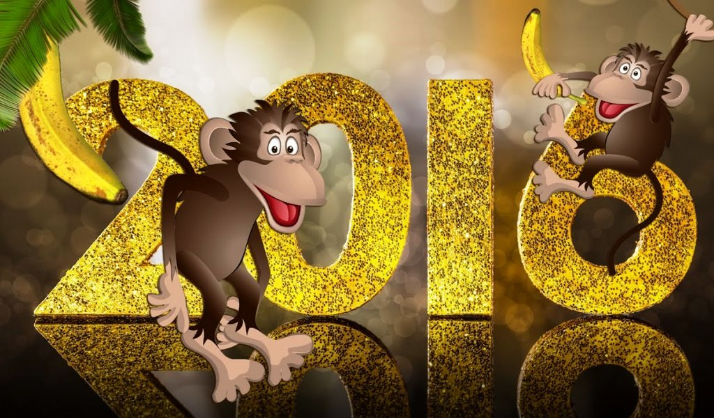 Открытка новый год 2016 прикольные, сделать открытку виде